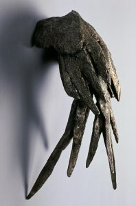 small wing sculpture
